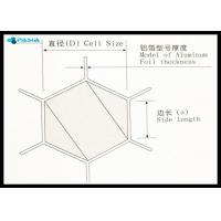 Fire Prevention Polypropylene Honeycomb Core Panels / Sheets Use Manufactures