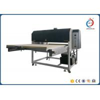 Quality Low Noise Automatic Heat Transfer Machine Hydraulic Dual Station Fabric Flatbed for sale