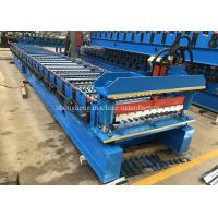 China Water Wave Wall Roofing Corrugated Sheet Roll Forming Machine 1000mm Coils on sale