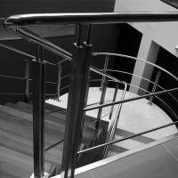 Cheap Price Indoor Removable pvc Stairs Top Handrail Stainless Steel Rod Railing Manufactures