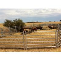 Full Welded 1.6m Hight Animals Cattle Fence Panel / Metal Horse Fence Panels Manufactures
