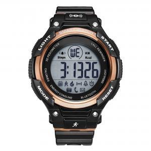 Men's Silicone  Wrist Watch ,Bluetooth Smart Watch , Luxury Waterproof SmartWatch,Military Digital Pedometer Smartwatch