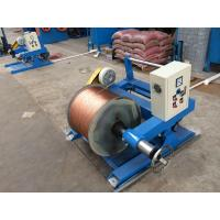 China Auto Copper Wire Twisting Machine With Multiple Head Passive Tension Pay Off Optional on sale