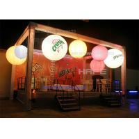 Architectural Moon Blloon Light / Airstar Balloon Light Decorative Inflatable Lighting Manufactures