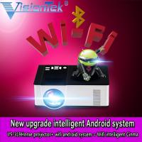 China VS319 1500lumens HDMI 1080P android 3D led home cinema projector with wifi&bluetooth on sale