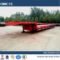 CIMC 6 axles semi trailer low bed 80T - 100T Manufactures