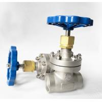 DN40 CryogenicStainless Steel Globe Valve Short Stem Cryogenic System Manufactures