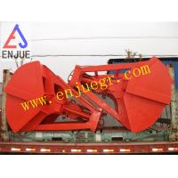 25t12cbm Single rope HYDRAULIC Remote control clamshell grab bucket for deck crane Manufactures