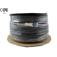 Single Mode Armored  CPRI Cable 4 Fibers LC end spiral helical for Outdoor Manufactures