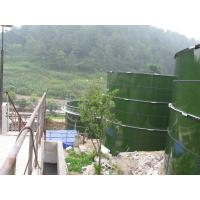 Durable Glass Lined Storage Tanks , Municipal Water Storage Tanks 2.4m X 1.2m Manufactures