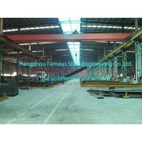 China Pre Engineered Commercial Steel Buildings Q345B H section on sale