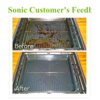 China Fast Food Stainless Steel Soak Tank Chemical With Heater On / Off Indicator Light on sale
