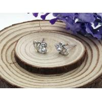 2014 new fashion jewelry platinum Plating stainless steel earrings for women Elegant-01 Manufactures