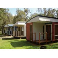 Waterproof Steel Frame Modern Modular House , Flat Packed Container House For Wild Vacation Manufactures