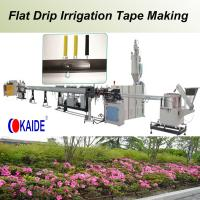 Flat Drip Irrigation Pipe Production Line 180m/min Manufactures