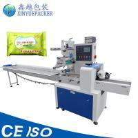 High Capacity Horizontal Flow Pack Machine , Solid Material Pillow Type Packing Machine Manufactures
