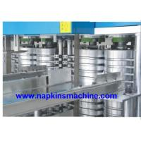 4 Folding Two Deck Napkin Making Machine with 2 Color Printing Manufactures