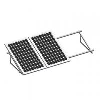 China Versatile Flat Roof Solar Mounting System Home Solar Power Aluminum Tripod Structure on sale