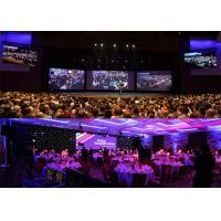 Front / Back Service Rental LED Display 7.625mm Pixel Pitch 140° Viewing Angle Manufactures
