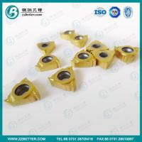 carbide threading insert Manufactures