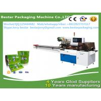 Custom design plastic roll soft pvc film for ice cream packaging with bestar pillow packaging machine BST250 Manufactures