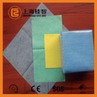 100% VIS Apertured Rayon Spunlace Nonwoven Wipes with Good Water Absorbancy Manufactures