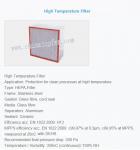 High temperature air filter,HEPA air filter,HEPA filter