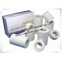 China Cotton Adhesive Medical Surgical Tape Zinc Oxide Hypoallergenic on sale
