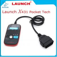 China Launch Pocket Tech Code Reader OBDII Code Reader Scanner Portable Device on sale