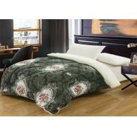 Customized Color Winter Quilt Sets Straight / Oblong Shape With ISO9001 Certificated Manufactures