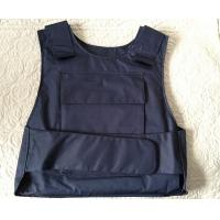 Military Police Lightweight Bullet Proof Vest / Concealable Stab Proof Vest Soft Body Armor Manufactures