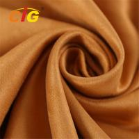 China Abrasion Upholstery 100% Polyester Microfiber  Faux Suede Fabric 80-200GSM on sale