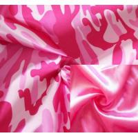 China Polyester Satin Printed Fabric on sale