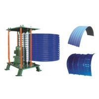 Roof Steel Tile Roll Bending Machine Automatic Curving Radius 500mm Manufactures