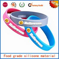 Customized silicone rubber bracelets wrist bands promotional products Manufactures