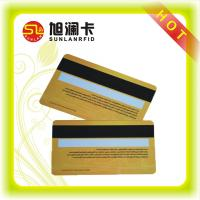 ISO NTAG213 ISO14443A NFC Business Smart Card With Hico Loco Magnetic Strip Cards Manufactures