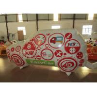 Standing Inflatable Advertising Signs Car For Advertising Commercial Inflatable decoration wall for sale Manufactures