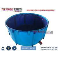 Foldable PVC Material Frame Fish Ponds Water Storage Tank Manufactures