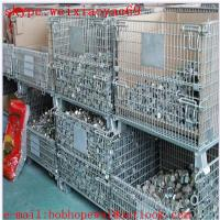 China wire mesh   folding storage cage/100% factory security cage/wire security cage/storage cages for sale on sale