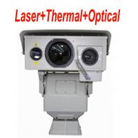 6.5 ° × 4.8 ° Long Range Infrared Thermal Camera PTZ With Multi Sensor 50mK Manufactures