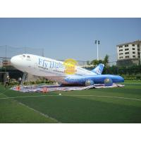 Giant Inflatable Advertising Helium Plane with Good Elastic, Custom Shaped Balloons Manufactures