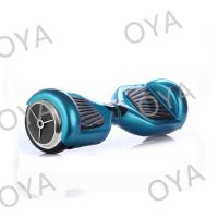 Quality Two Wheel Intelligent Blue Chrome Electric Self Balancing Scooter Electric Drifting Board for sale