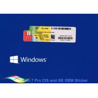 Product Key Windows 7 Professional 64 Bit For Tablet PCs / Computer Product Key Manufactures