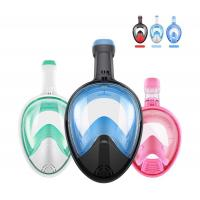 Easy Breathe Snorkel Mask Full Face Swimming Mask 180°Panoramic View Manufactures