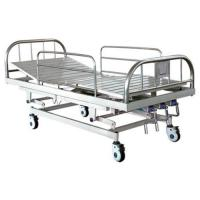 Stainless steel three-crank medical bed Manufactures