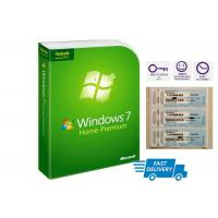 COA Key Code Sticker Microsoft Windows 7 Home Premium 64 Bit Full License DVD Package Manufactures