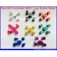 Xbox360 Controller ABXY Logo Button Metal 8 color Xbox360 repair parts Manufactures