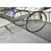 Special Type Diamond Mesh Fencing , Flexible Stainless Steel Bird Cage Fencing Manufactures