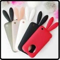 Best apple Rabito iPhone 4G cell phone TPU silicone case with rabbit tail