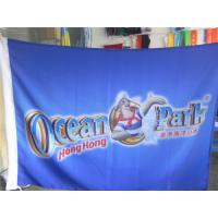 China Full Color Outside Advertising Flag Banners For Businesses , Custom Printed Flags on sale